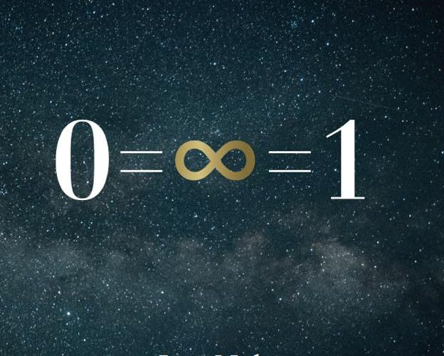 The Most Beautiful Equation in the Universe 0=∞=1
